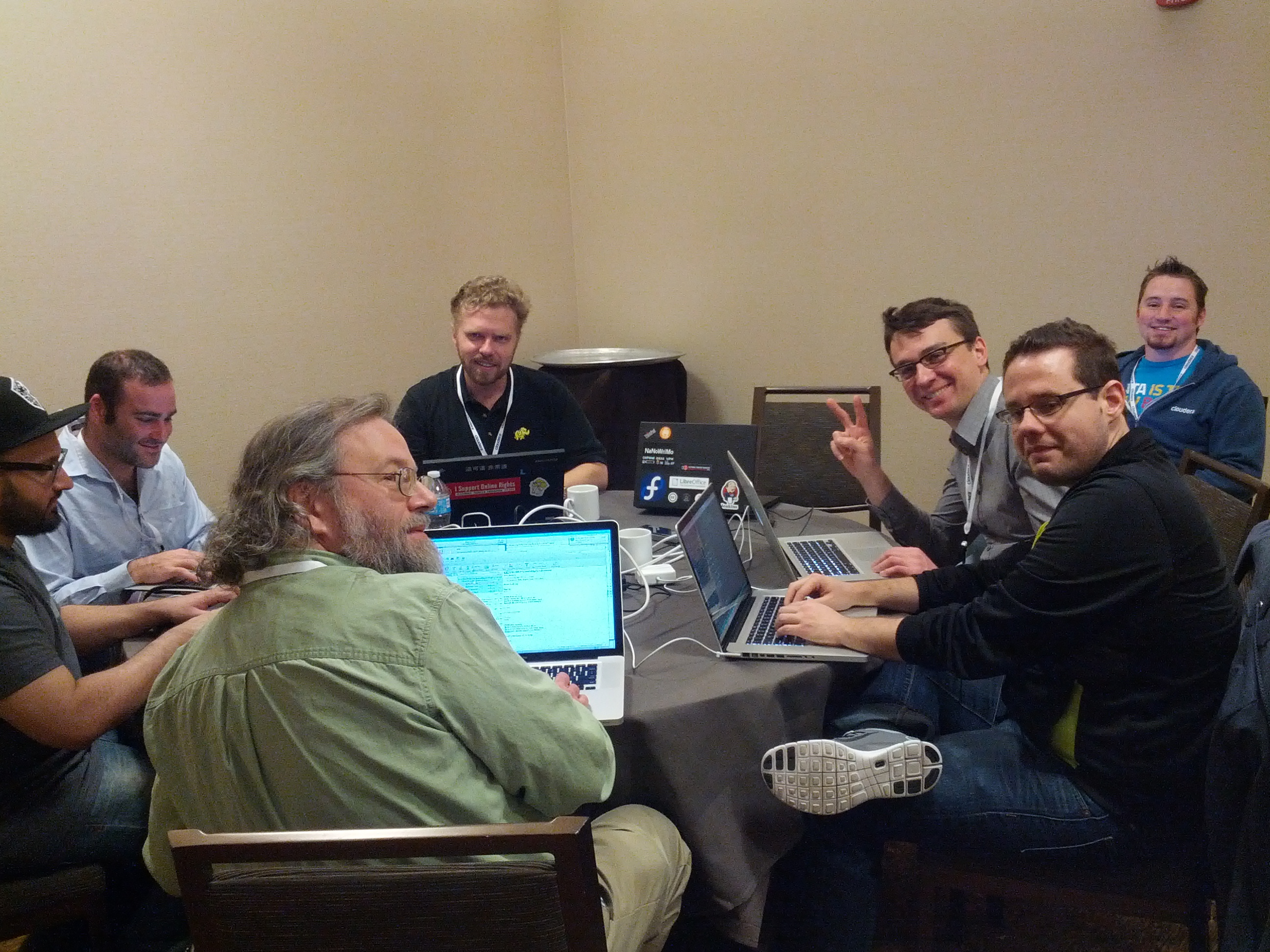 OSv hacking at Apachecon 2014